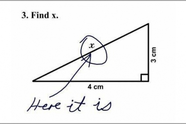 I'm sure trigonometry will come in handy one day … said no student … ever!